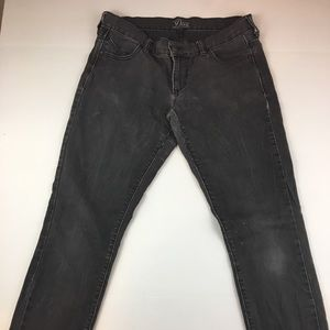 Old Navy Diva Skinny size 6 R Dark Wash Black -b07
